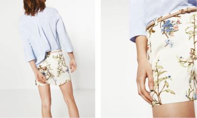 Shorts Zara