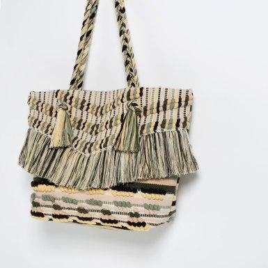 Shopper Flecos Zara